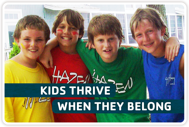 Kids Thrive When They Belong